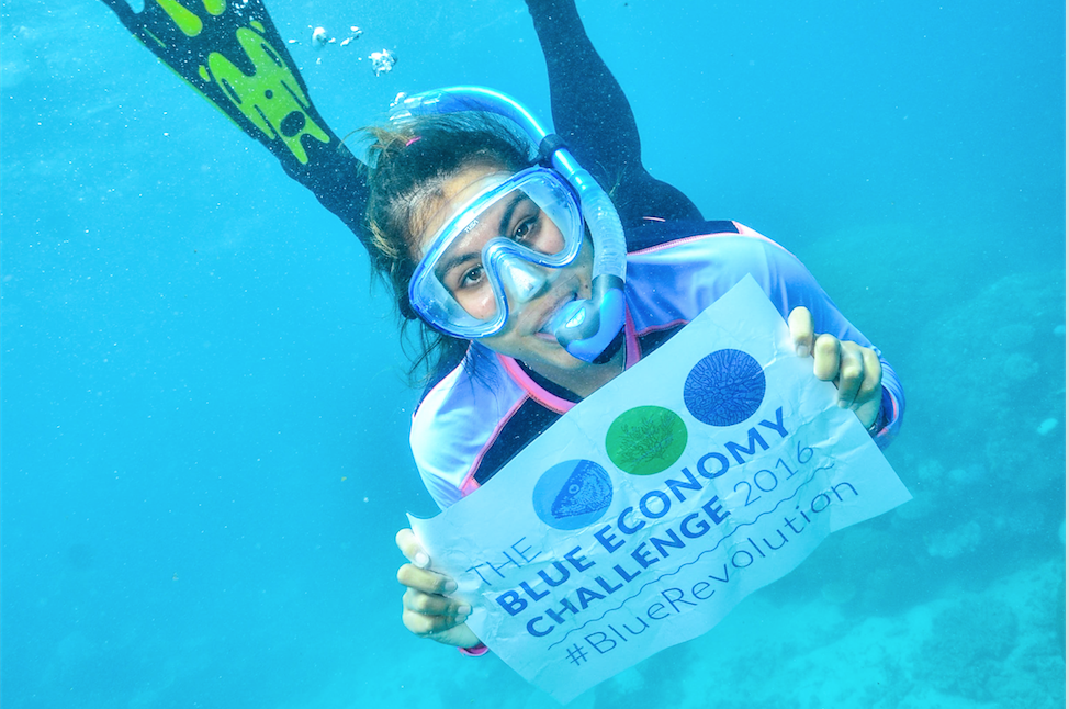 #BlueRevolution on the Great Barrier Reef