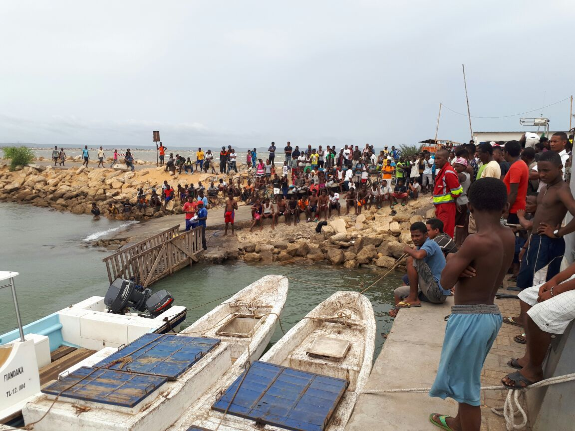 IOT and Ocean Farmers training turns local community members into aquaculture field technicians